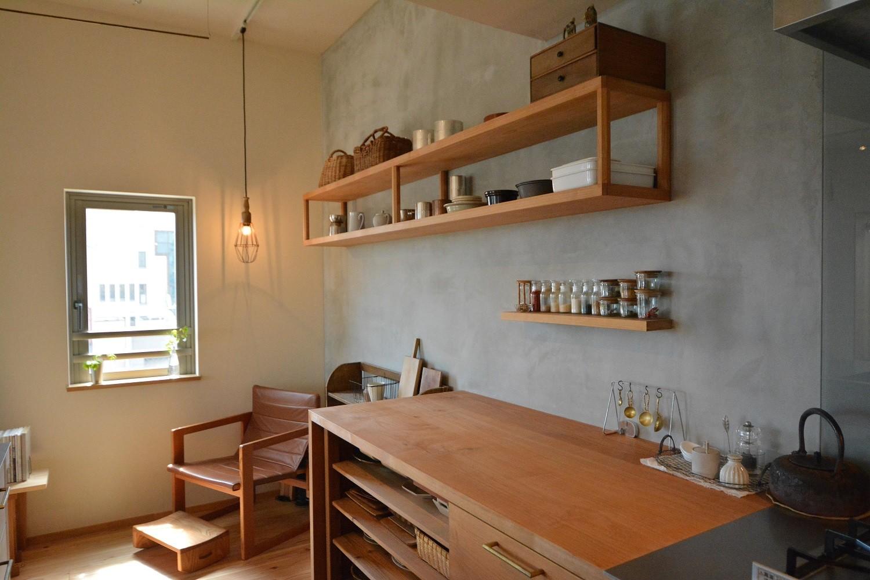 キッチン事例:キッチン(文京区Iさんの家)