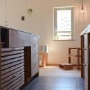 文京区Iさんの家の写真 カウンターキッチン収納