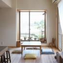 文京区Iさんの家の写真 リビングの縁側