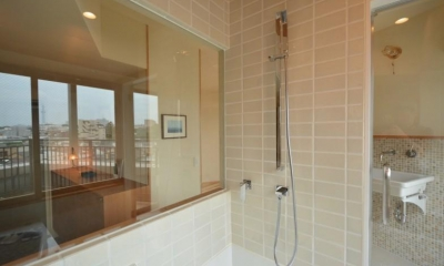 文京区Iさんの家 (バスルームのシャワー水栓)