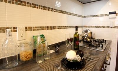 キッチン|中古マンションで優雅に暮らす