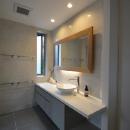 gokenya no ieの写真 シンプルな洗面室