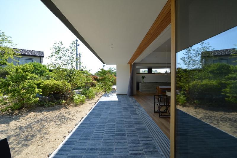 uchikoshi no ieの写真 風と光を感じる空間