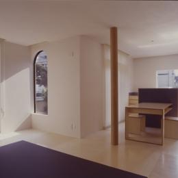 takemura house (リビングダイニング)