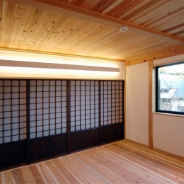 落ち着きのある空間 (静岡県伊東市にある築100年の古民家)