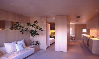 morishima house (リビングダイニング2)