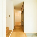 ちいさく・ひろく・ひろく   ー横井のN-Houseの写真 シンプルな玄関