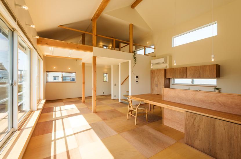 ちいさく・ひろく・ひろく   ー横井のN-House