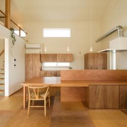 ちいさく・ひろく・ひろく   ー横井のN-House (木を感じるキッチン)