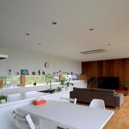 栃木県宇都宮市 House K - 太陽と風をつかまえる家 - (全体を眺める)