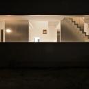 埼玉県鴻巣市 House T  - キリのキョリのイエ -の写真 外観-夜景