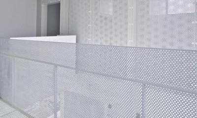 埼玉県鴻巣市 House T  - キリのキョリのイエ - (霧の中のような空間)