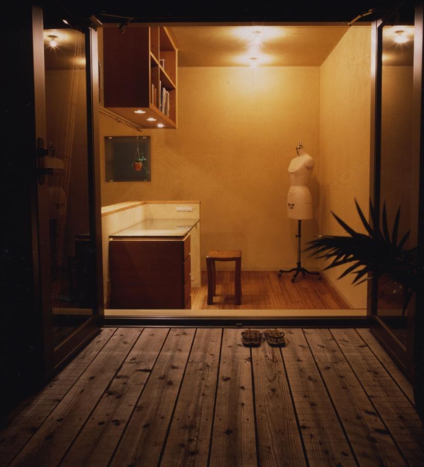 matsuura houseの部屋 テラス