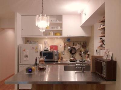 キッチン (disch-こども部屋がセカンドリビングに)