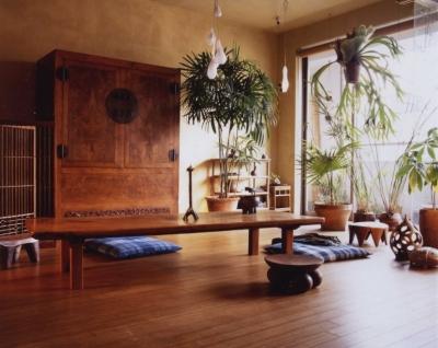 matsuura house (リビングダイニング)