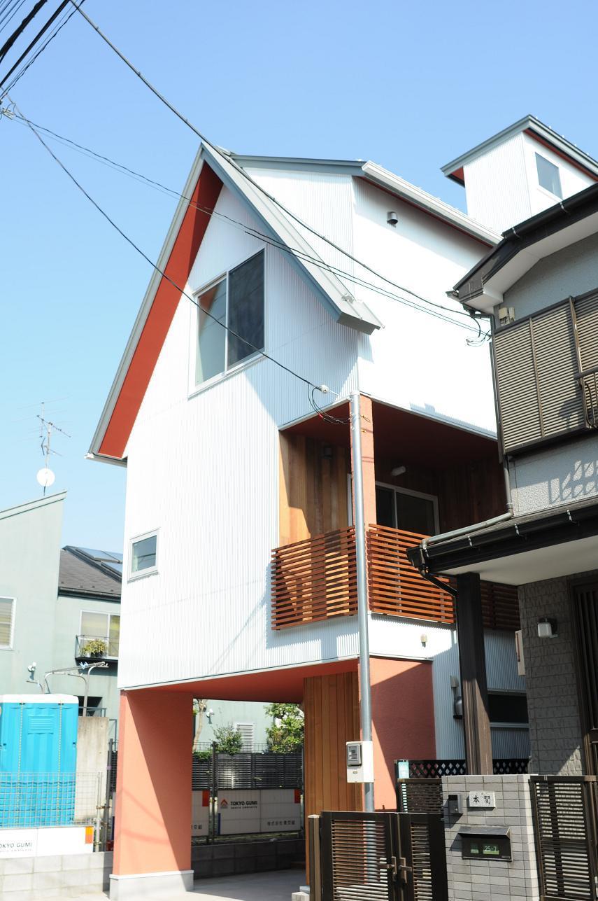 世田谷I邸-Ⅱの写真 前面道路からの外観