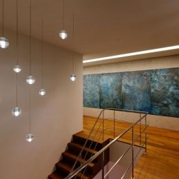 indigo houseの部屋 階段