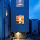 House in Osakiの写真 光が溢れる外観