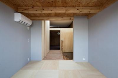 House in Osaki (寝室)