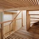 House in Osakiの写真 スノコのある階段