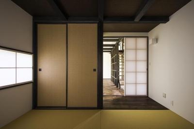 松本岡田の家 -切妻六.五間堂- (ゲストルーム 和室)