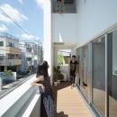 北千束の集合住宅の写真 コミュニケーションがとれる空間