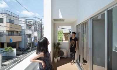 北千束の集合住宅 (コミュニケーションがとれる空間)