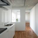 北千束の集合住宅の写真 キッチン1