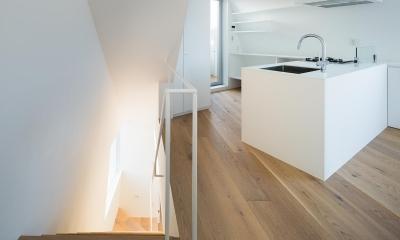 北千束の集合住宅 (キッチン2)