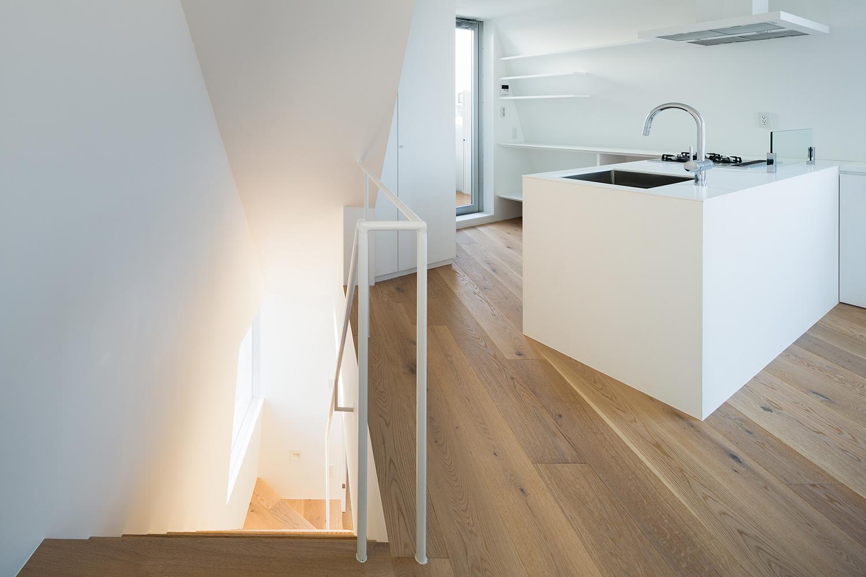北千束の集合住宅の部屋 キッチン2