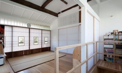 iesaka house (ベッドルーム)