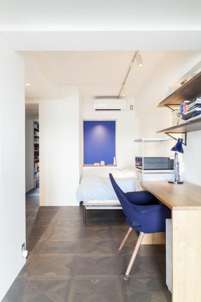 この部屋単体でホテルスイートというイメージ (「テイラー」のようなドレッサールームを)
