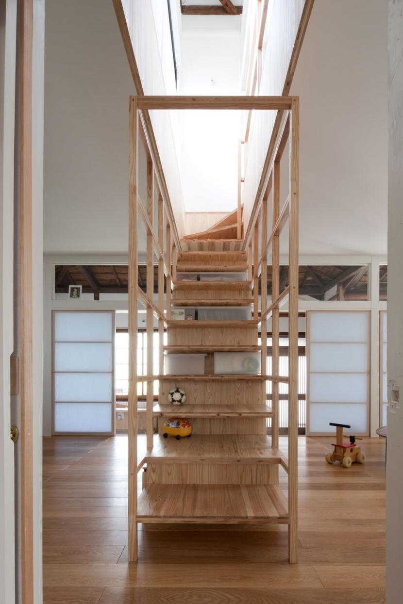 iesaka houseの部屋 階段