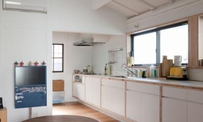 iesaka house (キッチン)
