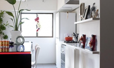 TZN-天板3枚重ねのオリジナルテーブルを (キッチン&ダイニング)