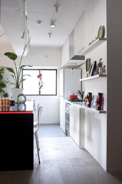 キッチン&ダイニング (TZN-天板3枚重ねのオリジナルテーブルを)