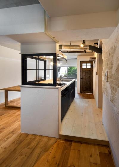 キッチン (Natural × Contrast)