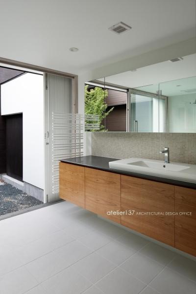 洗面脱衣室 (038那須Fさんの家)