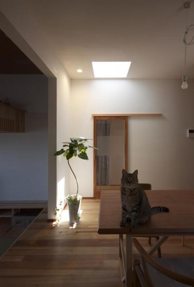 ダイニング (大蔵の家(リフォーム))