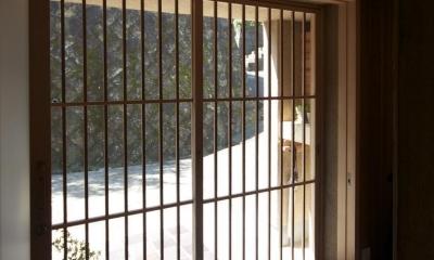 大蔵の家(リフォーム) (玄関)