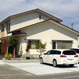 建築家 石間 均の事例「ロフトのある二世帯住宅」