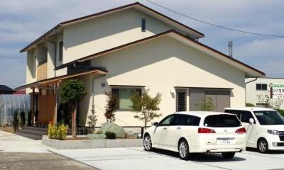 ロフトのある二世帯住宅