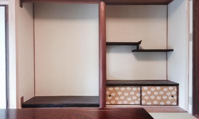 和室|下鴨の家