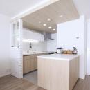 建築家とつくりあげた理想のリノベーション空間の写真 こだわりのキッチン