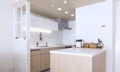 こだわりのキッチン|建築家とつくりあげた理想のリノベーション空間