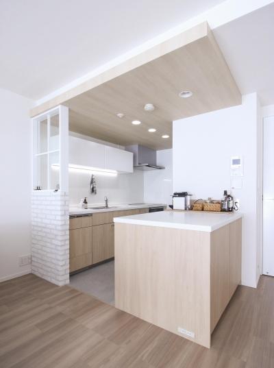 こだわりのキッチン (建築家とつくりあげた理想のリノベーション空間)