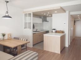 建築家とつくりあげた理想のリノベーション空間 (ゆったりと過ごせるダイニングキッチン)