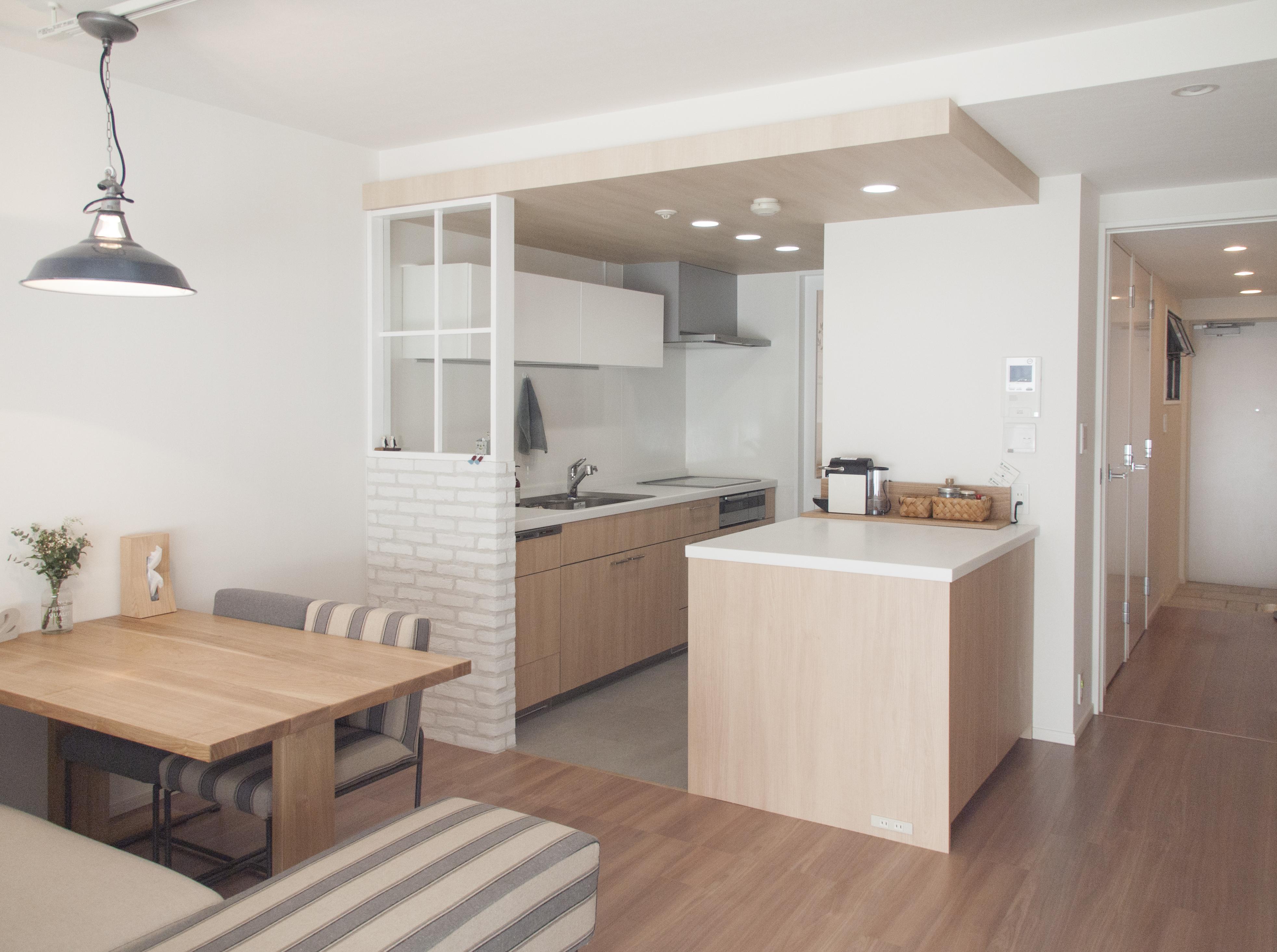 建築家とつくりあげた理想のリノベーション空間の部屋 ゆったりと過ごせるダイニングキッチン