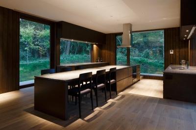 OW山荘 (キッチン)