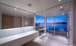 糸島の別荘 (絶景のバスルーム)